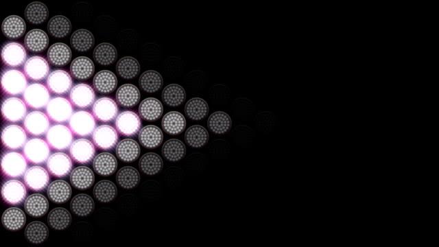 VJ lights Loop Full HD Video video