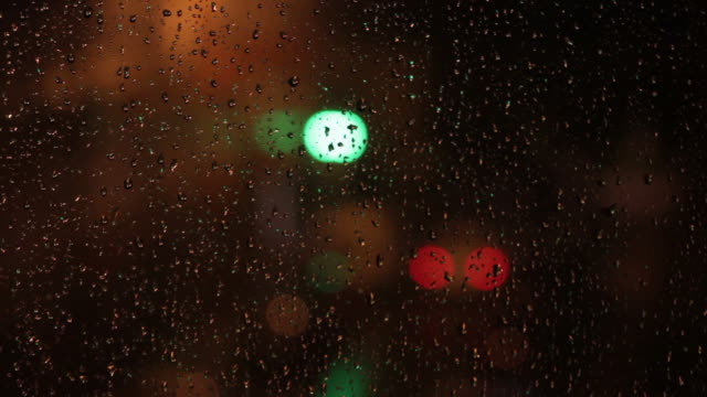 Lights on a Rainy Night by Crystal Glass video