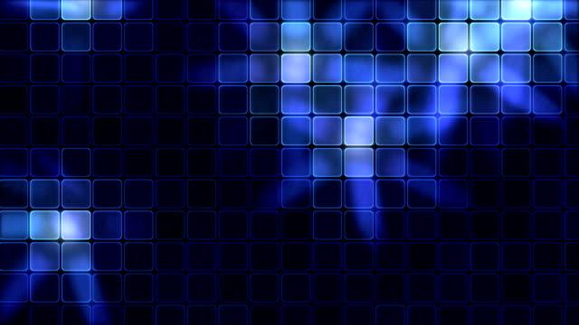 Lights Shining Through Glass Tiles - Loop Blue video
