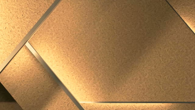 lights show on a brown shelf rack video