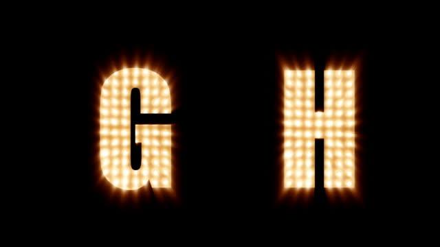 Lightwall Font - video