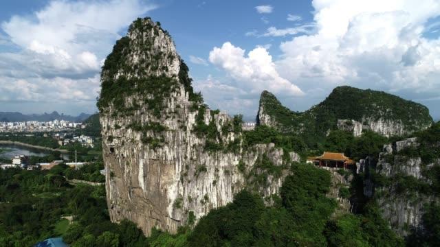 lijiang river in guilin - provinz guangxi stock-videos und b-roll-filmmaterial
