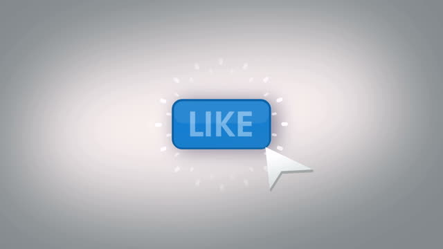 like button animation loop video