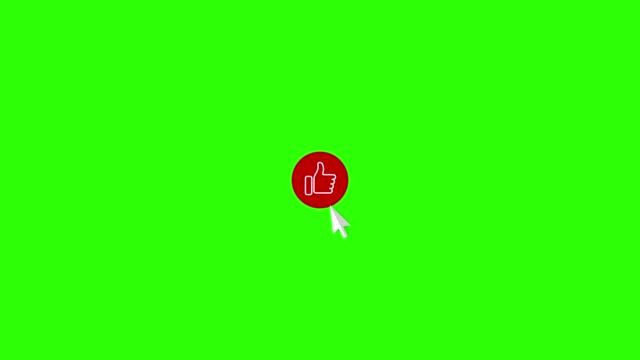 like subscribe and bell icons on green screen (russian language) - lingua russa video stock e b–roll
