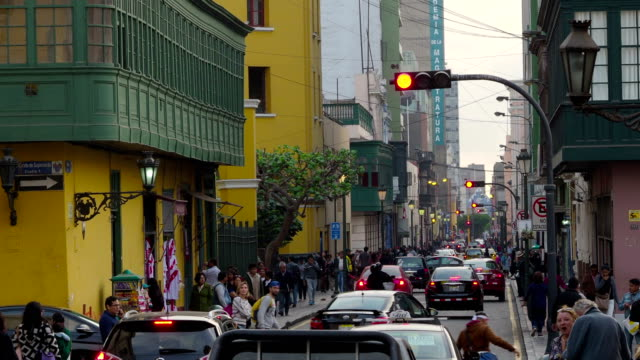 Lima Historical City Center video