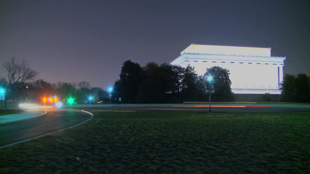 LOOP Lincoln Memorial by Night video