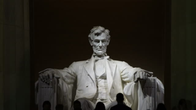 vidéos et rushes de le lincoln memorial, le washington dc, états-unis. - monument