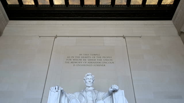 HD VDO : Lincoln Memorial, Washington video