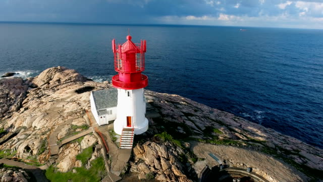 Lindesnes Fyr Lighthouse, Norway video