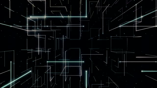 vídeos de stock, filmes e b-roll de linha de líquido tunnel.front em movimento. - perspectiva espacial