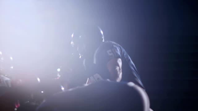 Linebacker sacks quarterback video