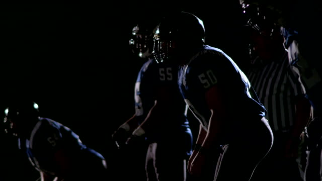 Linebackers get set for play video