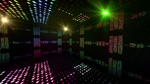 vídeos de stock, filmes e b-roll de alinha o quarto das ondas da música, fundo das ampolas - música acústica