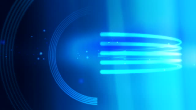 Lines Stroke Rotate Background Loop Blue video