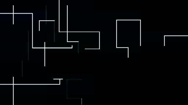 linien  - quadratisch komposition stock-videos und b-roll-filmmaterial