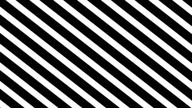 vídeos de stock e filmes b-roll de lines white and black - listrado