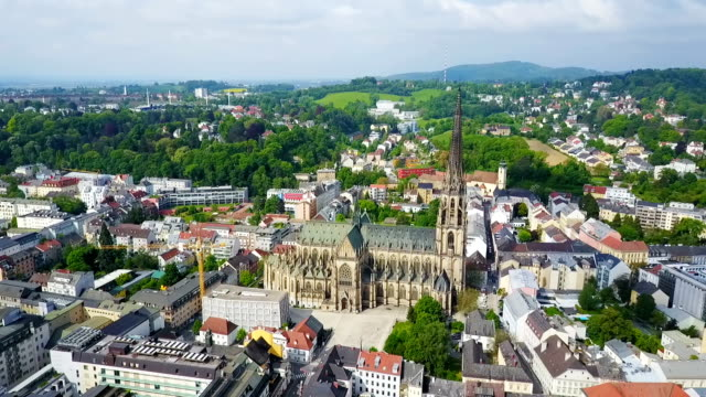 Linz New Cathedral, Austria video