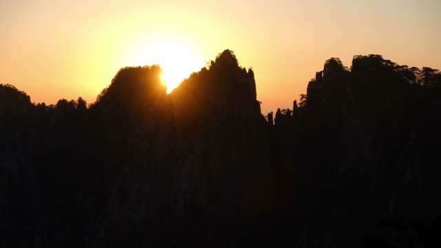 lion peak view point, Huangshan (Yellow Mountains), Eastern China. video