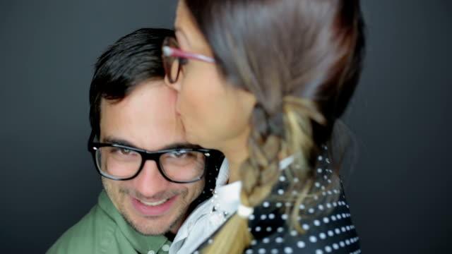 Lipstick kiss video