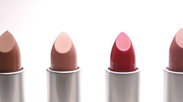 lippenstifte - lippenstift stock-videos und b-roll-filmmaterial
