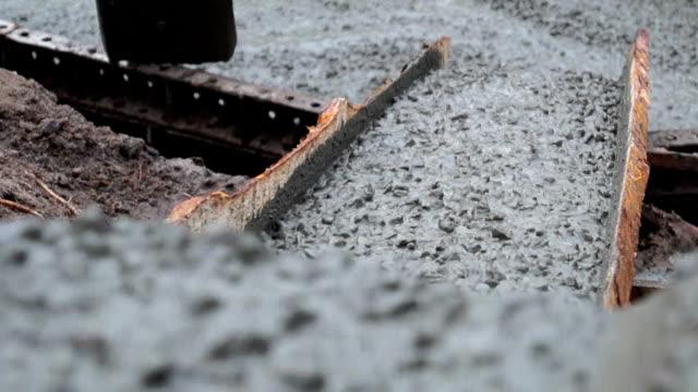 液体コンクリート - セメント点の映像素材/bロール