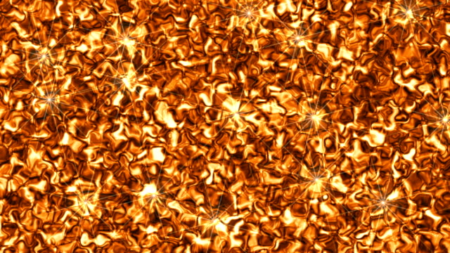 Liquid golden texture Liquid shiny gold moving background closeup 4K brushed metal stock videos & royalty-free footage