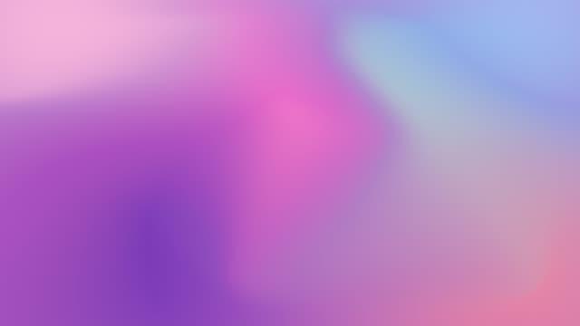 4k flüssige farbverlaufsanimation. holographische neonfolie animation. bunter abstrakter hintergrund - holografisch stock-videos und b-roll-filmmaterial