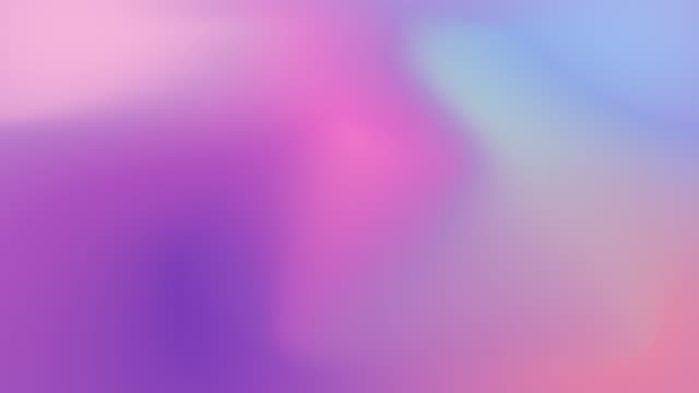 4k liquid gradient animation. holographic neon foil animation. colorful abstract background - голографический стоковые видео и кадры b-roll
