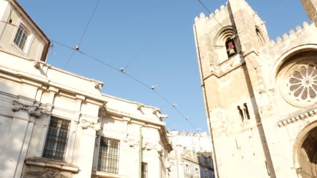 vídeos de stock e filmes b-roll de lisbon city, portugal - eletrico lisboa
