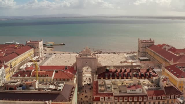 Lisbon old town view