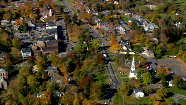 Litchfield  - Aerial View - Connecticut,  Litchfield County,  United States This clip was filmed by Skyworks on HDCAM SR 4:4:4 using the Cineflex gimbal. Connecticut,  Litchfield County,   United States connecticut stock videos & royalty-free footage