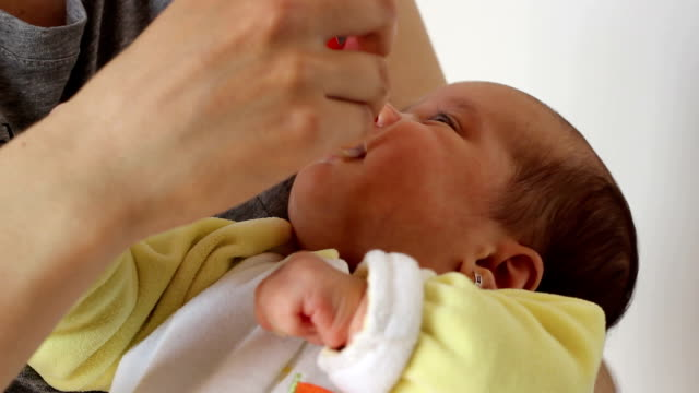 Little Baby Taking Medicine video