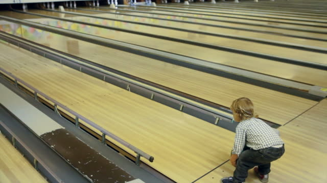 Little Boy Bowling video