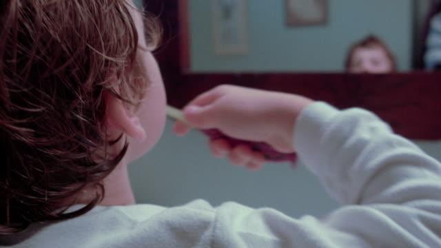 Little Boy Brushing Teeth video