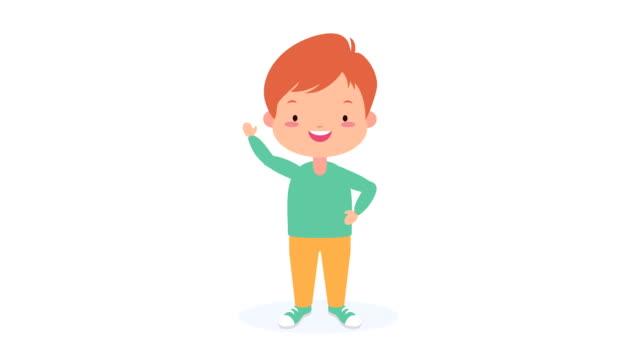little boy kid avatar character video