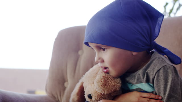 Little Boy with Disease video