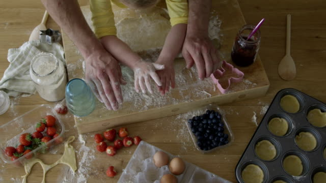 Little Girl Baking video