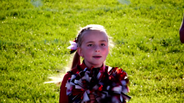 Little Girl Cheerleader video
