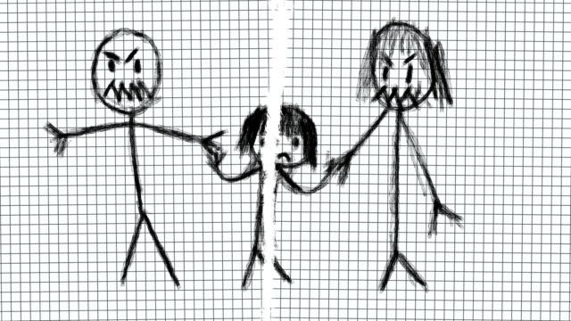 stockvideo's en b-roll-footage met meisje wordt seksueel misbruikt door ouders - kids online abuse