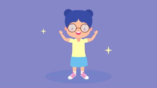 little girl kid avatar character video