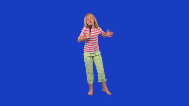 HD: Little Girl Singing video