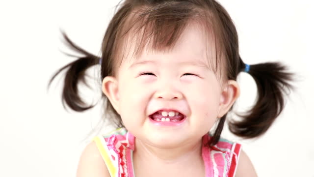 Little girl Smiling video