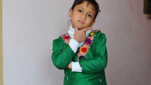 Little Girl Thinking video
