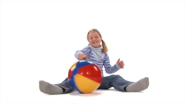 HD: Little Girl With A Ball
