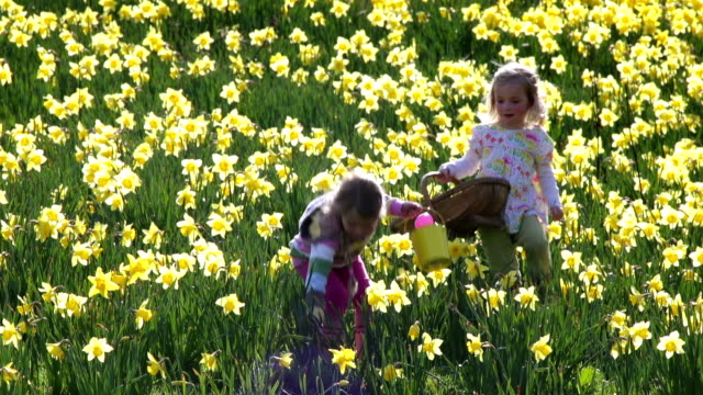 Little Girls at Easter video