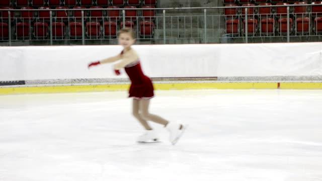 little ice skater video