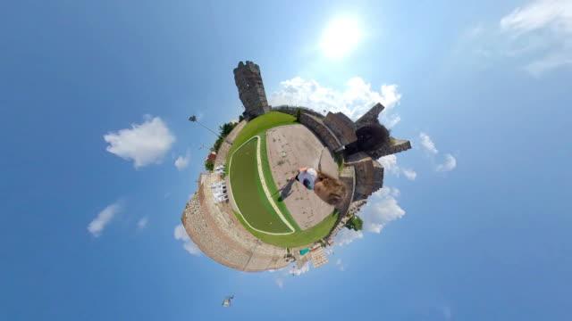 Little Planet City Walls Topkapi, istanbul/Turkey