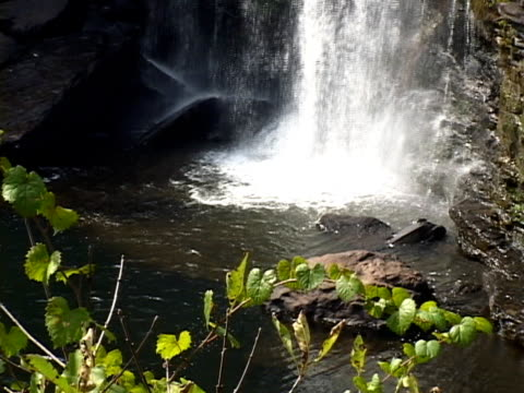 vídeos de stock, filmes e b-roll de little river falls - penedo