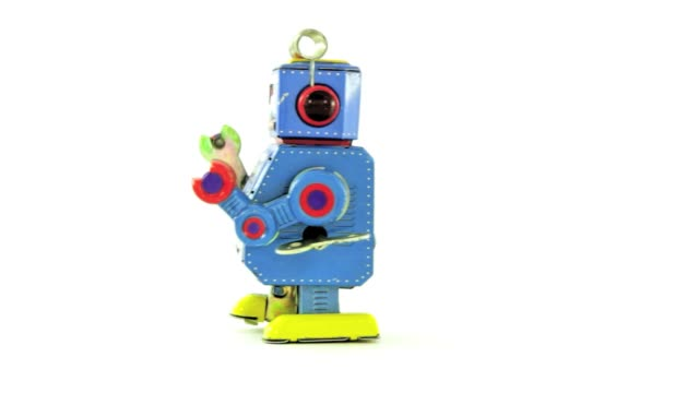 little  robot toy