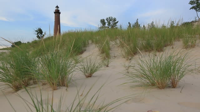 Little Sable Point Lighthouse video